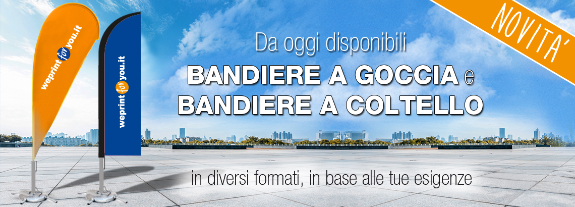 NEW! Bandiere